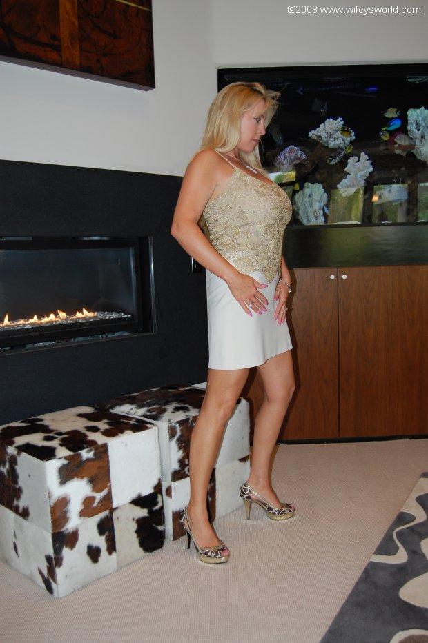 Woman watching guys strip bare naked